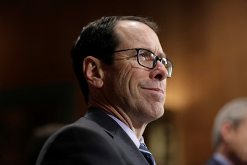 Chairman and CEO of AT&T Stephenson testifies before the Senate Judiciary Committee Antitrust Subcommittee hearing on the proposed deal between AT&T and Time Warner in Washington