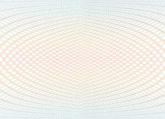 Guilloche background texture - gradient zig zag. For certificate, voucher, banknote, voucher, money design, currency Vector illustration