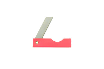 pencil cutter knife isolated on white background