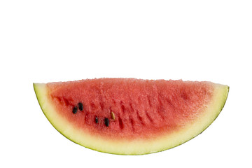 Melon water isolated white. Clipping path.