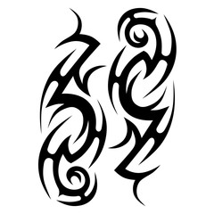 tattoos tribal vector pattern idea