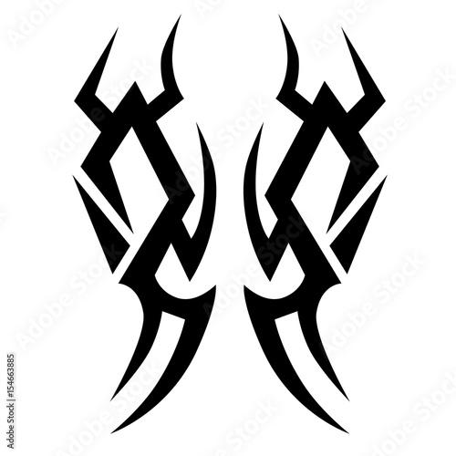 Tattoo Tattoo Tribal Vector Design Simple Tattoo Tribal Logo
