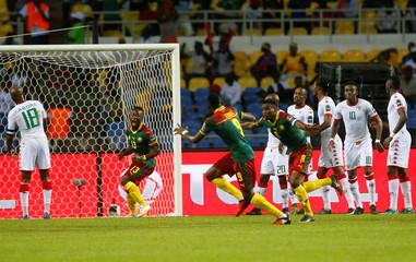 Football Soccer - African Cup of Nations - Burkina Faso v Cameroon - Stade de l'Amitie - Libreville, Gabon
