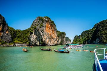 Canoeing at Koh Hong Island