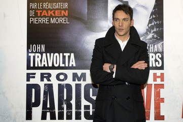 """Actor Jonathan Rhys Meyers arrives at the premiere of """"From Paris With Love"""" in Paris"""
