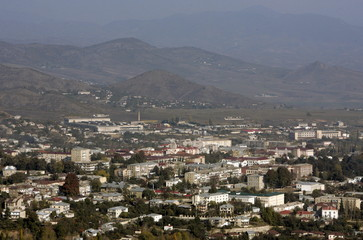 File photo of Nagorno Karabakh's main city of Stepanakert