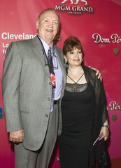 "Former heavyweight boxer Chuck Wepner and his wife Linda arrive for the ""Power of Love Gala"" and 70th birthday celebration for Muhammad Ali in Las Vegas"