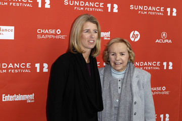 "Filmmaker Rory Kennedy and Ethel Skakel Kennedy smile before the premiere of ""Ethel"" during the Sundance Film Festival in Park City"