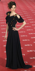 Spanish actress Pilar Lopez de Ayala, nominated for Best Supporting Actress, poses for photographers on the red carpet as she arrives for the Spanish Film Academy's Goya awards ceremony in Madrid