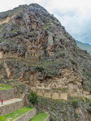Písac  (Pisaq) Inkaruinen  Valle Sagrado (Heiliges Tal der Inka) Rio Urubamba Peru