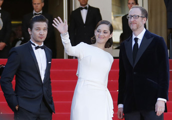 "Director James Gray and cast members arrive for the screening of the film ""The Immigrant"" in competition during the 66th Cannes Film Festival"