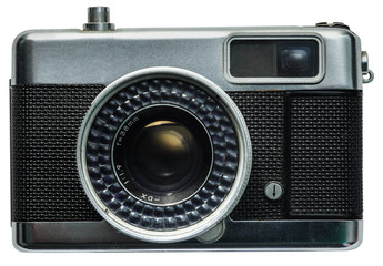 old camera with clip-path