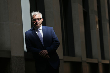 David Berney, a consultant at Pohjola Asset Management Execution Services poses for a photograph in central London