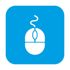 computer mouse icon stock vector illustration
