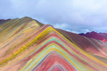 Poster Vinicunca or Rainbow Mountain,Pitumarca-Peru