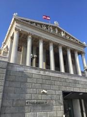 Parlament w Wiedniu, Austria