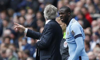 Manchester City v Queens Park Rangers - Barclays Premier League