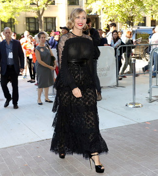 """Actress Vera Farmiga arrives for the premiere of the film """"Burn Your Maps"""" at TIFF"""