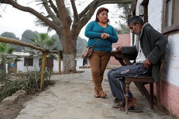The Wider Image: Fighting tuberculosis in Peru's village of hope