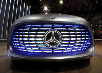 File photo of Mercedes-Benz Vision Tokyo concept car displayed at the 44th Tokyo Motor Show in Tokyo