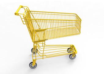 gold Shopping cart