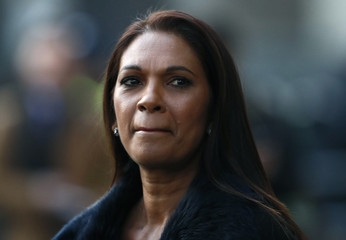 Gina Miller arrives at the Supreme Court to hear the decision whether Theresa May's government requires parliamentary approval to start the process of leaving the EU