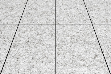 Close - up Street floor tiles as background seamless and pattern..