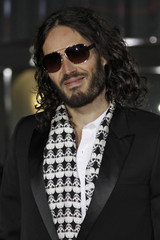 """Actor Russell Brand arrives at Warner Bros. Pictures' """"Gangster Squad"""" premiere at Grauman's Chinese Theatre in Hollywood, California"""