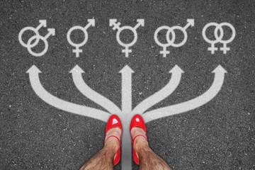 th h geschlechter symbole I