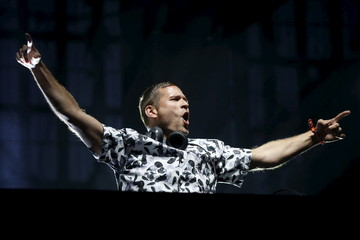 DJ Kaskade performs at the Coachella Valley Music and Arts Festival in Indio