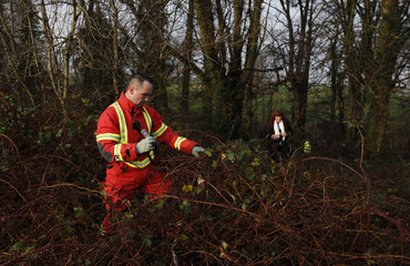 Members of the public and professional services take part in the search for a missing boy in the Silver Knowes area of Edinburgh