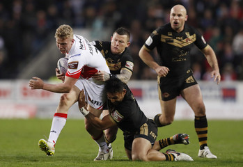 St Helens v Catalans Dragons - First Utility Super League