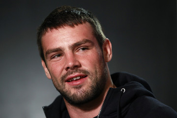 England's Foden speaks to media during a media event in Queenstown