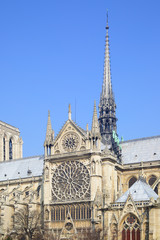 Wall Mural - Broach of Notre Dame de Paris