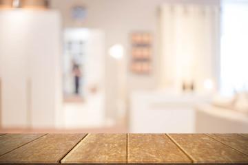 Blur Kitchen Room of The Background
