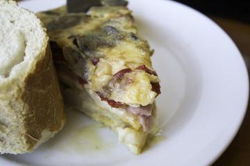 Tortilla potato cheese
