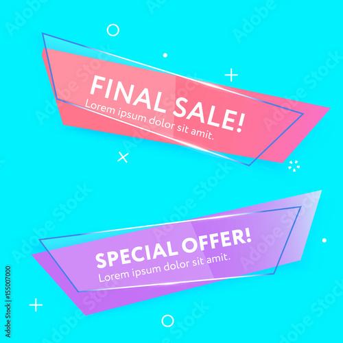 sale web banners template fotolia com の ストック画像とロイヤリティ