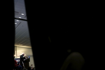 U.S. Democratic presidential candidate Bernie Sanders speaks during a campaign rally at the Des Moines Area Community College in Ankeny, Iowa