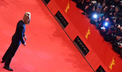 """Actor LaBeouf arrives on red carpet to promote movie """"Nymphomaniac Volume I"""" during 64th Berlinale International Film Festival in Berlin"""