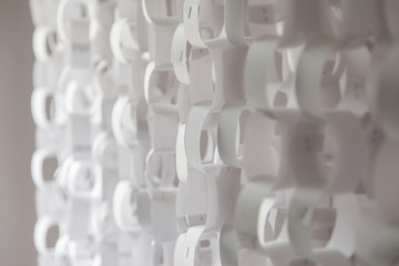 Paper chain decoration background