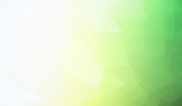 Creative green wallpaper