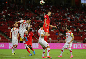 Singapore v Syria - 2018 FIFA World Cup Qualifying - AFC Second Round - Group E