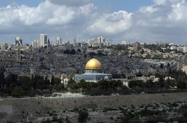 The Dome of the Rock is seen on the compound in Jerusalem's Old City