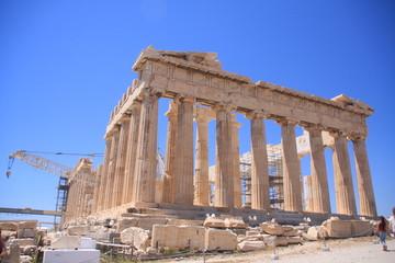 façade du Parthénon