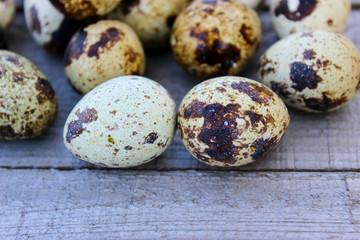 quail eggs on the Board