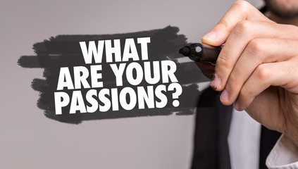 What Are Your Passions?