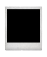 Empty instant photo paper