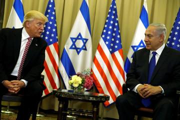Trump and Netanyahu speak to reporters before their meeting in Jerusalem