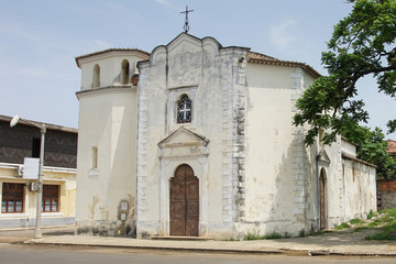 Kirche in Sao Tome Stadt, Sao Tome und Principe, Afrika