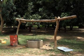 Dorfbrunnen in Afrika